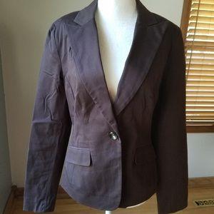 Brown Merona blazer